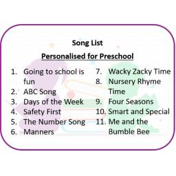 Personalised for Preschool Song List.png