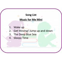 Music for Me Mini Song List.png