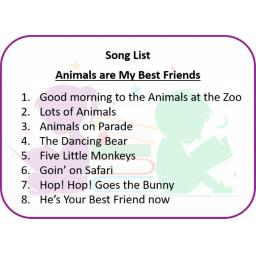 Animals are My Best Friends Song List.png