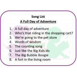 A Full Day of Adventure Song List.png