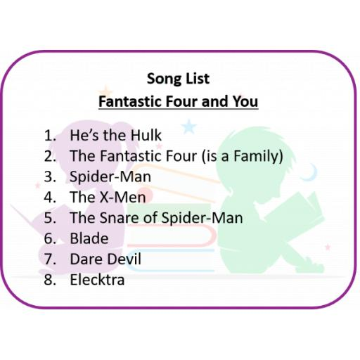Fantastic Four and You Song List.png